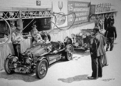 Aston Martin. Lápiz. Daniel Sonzini