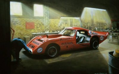 La historia de Daniel Sonzini, el pintor del automovilismo