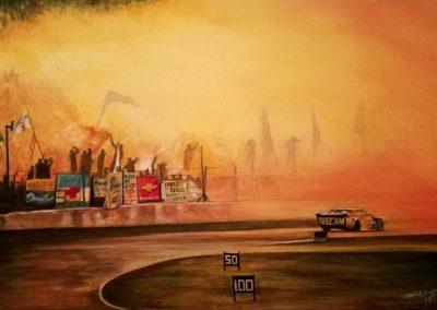 """Amor Eterno"". Pinturas al Oleo del Automovilismo - Daniel Sonzini"