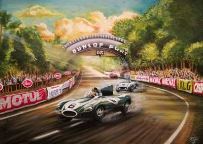Pinturas al Oleo del Automovilismo - Daniel Sonzini
