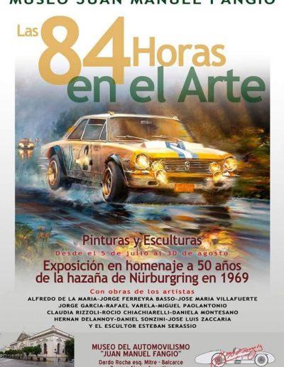 Las 84 horas en el arte. Museo Juan Manuel Fangio