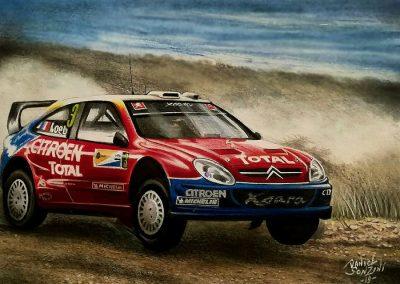 Citroen Xsara WRC. Sebastián Loeb