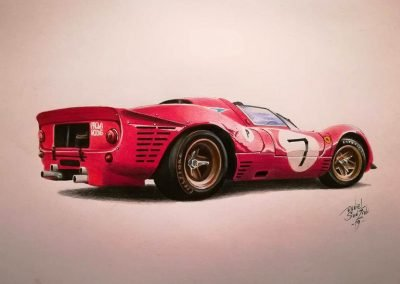 Ferrari-330p4 - Daniel-Sonzini
