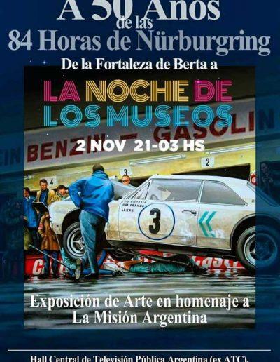 La Noche de los Museos - Exposición en homenaje a La Misión Argentina