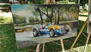 Exposición de Autos y Héroes