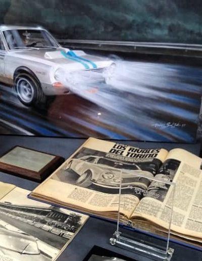 Exhibidor Museo Juan Manuel Fangio
