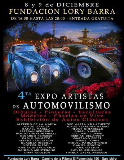 Expo Artistas de Automovilismo - Fundación Lory Barra - Daniel Sonzini