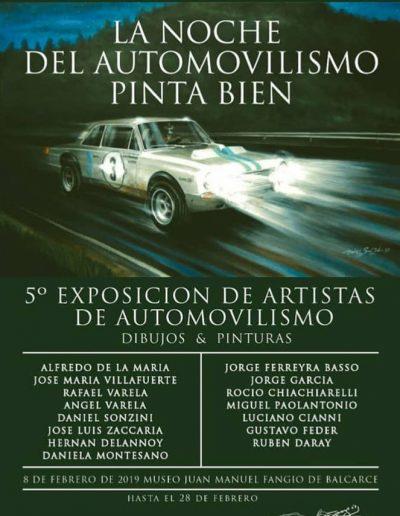 5ta Exposición de Artistas de Automovilismo - Museo Juan Manuel Fangio