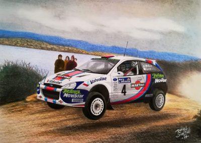Ford WRC Colin McCrae