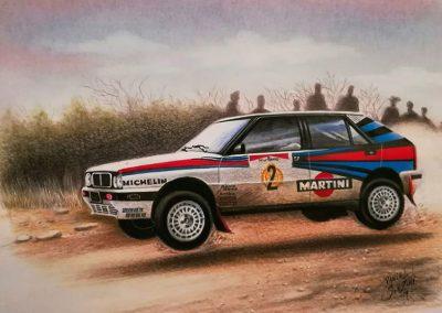 Lancia Delta Jorge Recalde