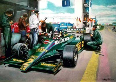 Lotus 79-Carlos Alberto Reutemann-Daniel Sonzini